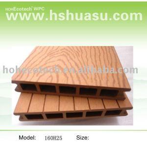 Hölzerner zusammengesetzter Decking/Bodenbelag, wpc Deckingfußboden