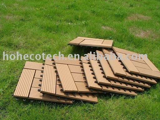 Madeira decking composto plástico/ telha - fácil instalação