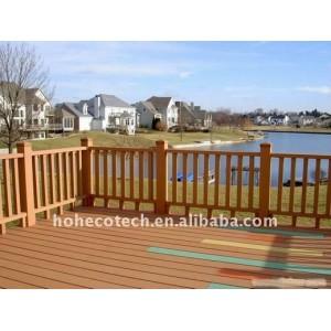 Outdoor PUBLIC flooring wood plastic composite decking/flooring