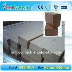 banco de materiales de wpc barandilla barandilla de la cubierta del wpc esgrima