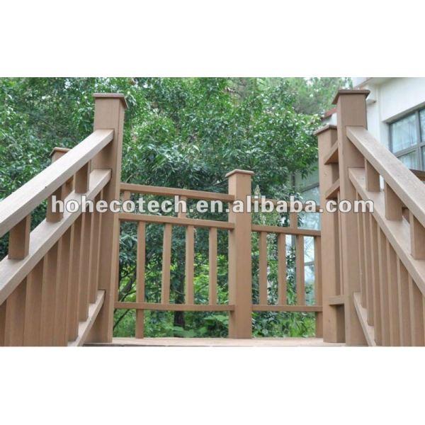 Förderung! zurückführbares Geländer des langen Lebens WPC (CER RoHS)
