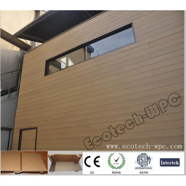 unprecedent compuesto plástico de madera wpc revestimiento de la pared