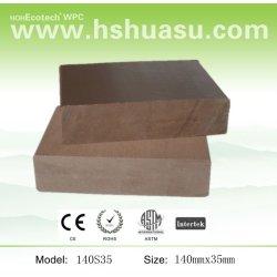 aspect naturel platelage composite bois plastique