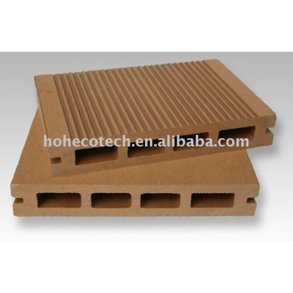 2012 de alta calidad de madera de plástico compuesto deckings