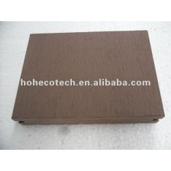 Ce/ sgs exterior decking de wpc/ eco - amigável plástico pisos de madeira