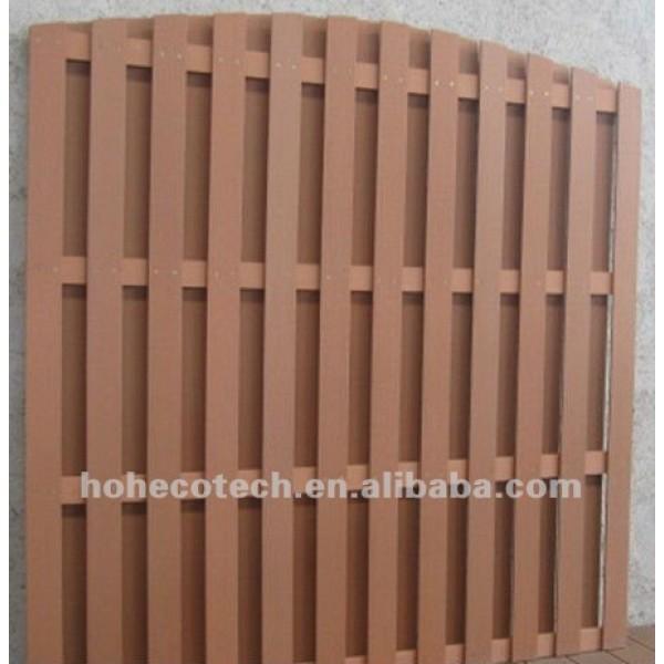 wpc valla de madera