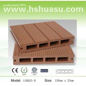legno composito di plastica wpc decking esterno