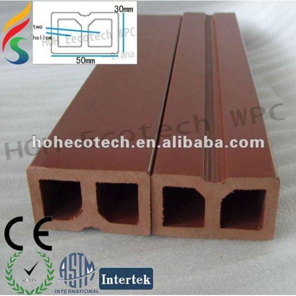 Legno composito di plastica wpc chiglia/per travetto decking fix