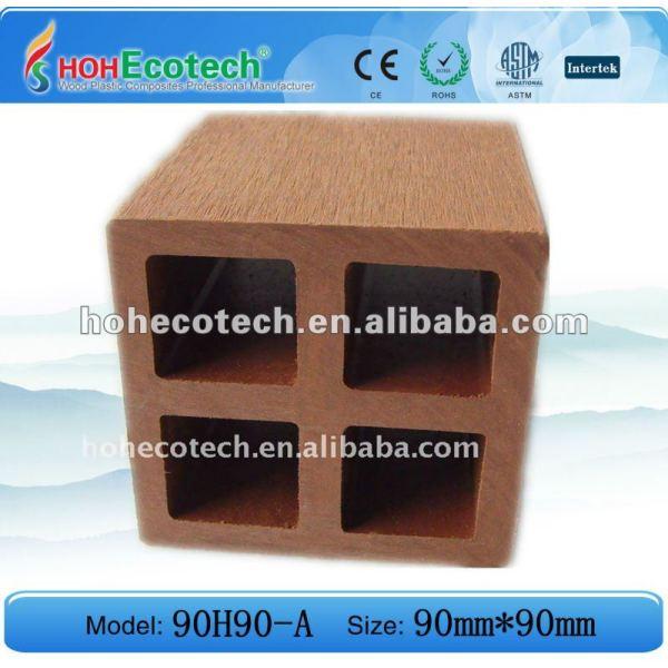 decking de wpc - plancher creux/plate-forme/carrelage composés