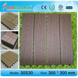 Eco- amicalequalité platelage composite bois plastique/carrelage