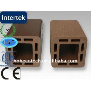 Post - wpc material de construção/eco - friendly wood plastic composite decking/decking do assoalho