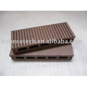 Popolare wpc decking pavimentazione ( iso9001, iso14001, rohs, ce )
