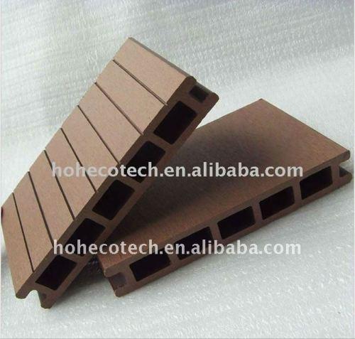 Composé composé en plastique en bois de decking de WPC/de decking wpc du plancher 160*25mm (CE, ROHS, ASTM, OIN 9001, OIN 14001, Intertek)