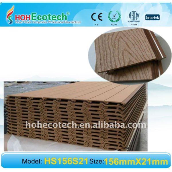 Compuestos de madera plástica revestimiento de la pared elegante adorno de wpc molde - a prueba de humedad - a prueba de wpc panel de pared