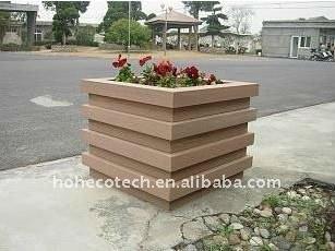 plancher de fleur du wpc imperméable à l'eau WPC de boîte/decking en plastique composé de decking