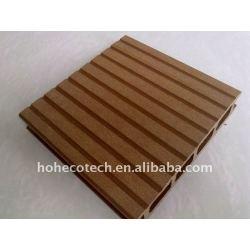 placa decking composto wpc telhas decks de madeira composto plástico piso decking composto