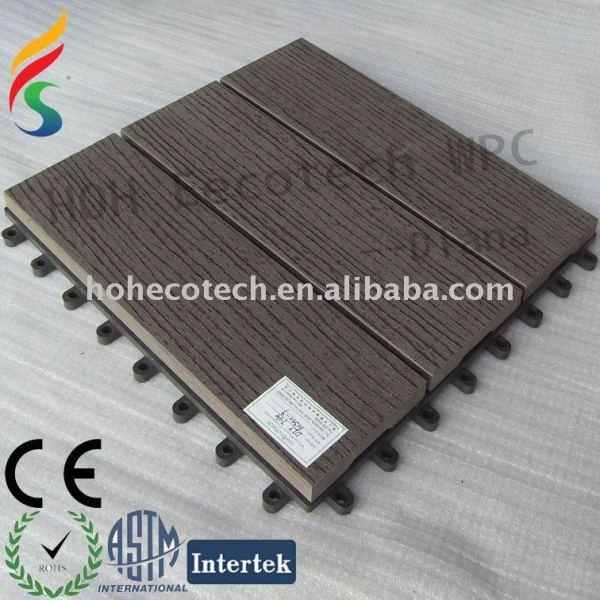Caliente venta de bricolaje cubierta azulejos - 300mmx300mm color gris