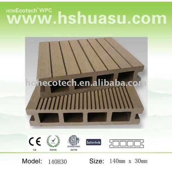 compuesto de madera plataforma 140x30mm