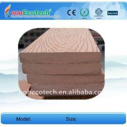 El precio de fábrica! 140*20mm wpc compuesto plástico de madera decking/wpc suelo junta piso decking del wpc piso