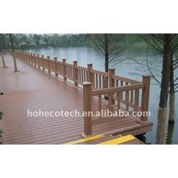 Passati i iso9001 iso14001 e garanzia di qualità del legno - compositi di plastica bordo decking di wpc