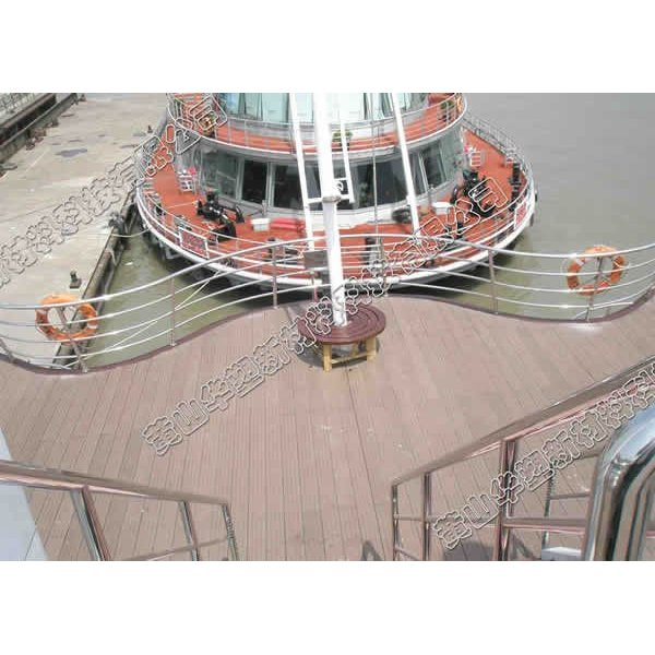 eleganter und netter wpc Decking