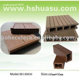 plate-forme composée en plastique en bois/decking/plancher composés