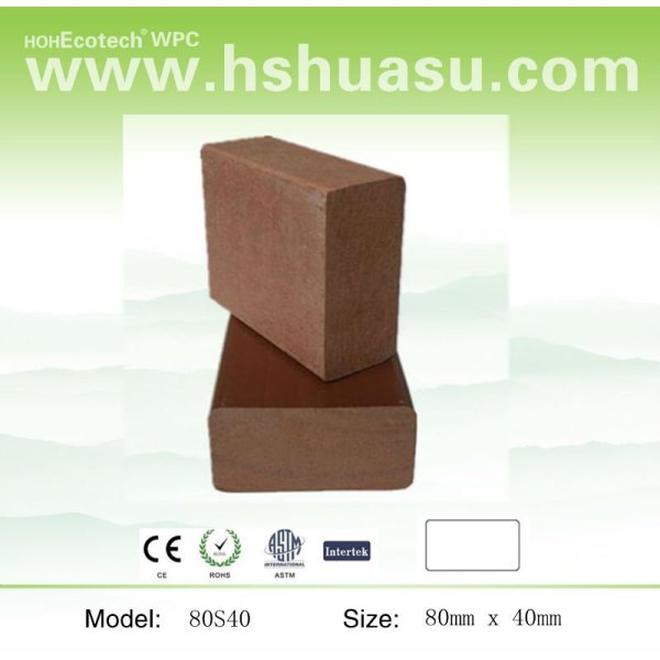 compuesto plástico de madera suelo
