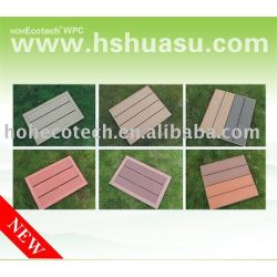 populärer hölzerner zusammengesetzter Plastikdecking floor-ISO9001/CE/Intertek