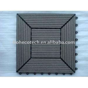 Wpc decking fliese/außendeck/garten boden/copmosite kunststoff holz decking