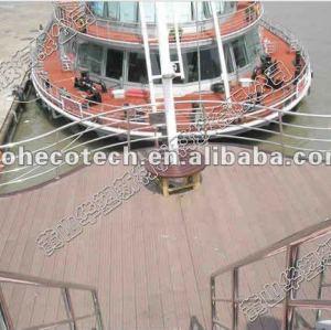 imperméabilisez le plancher de flottement, passages couverts de plate-forme de marina, plancher de ponton, flottant la plate-forme en bois