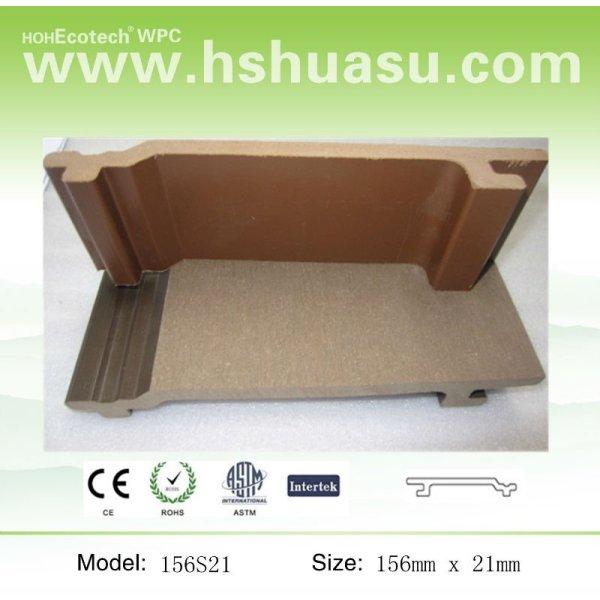 Panneau de mur matériel de Woodlike WPC de qualité