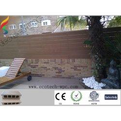 Plancher creux de Decking de WPC (composé en plastique en bois)