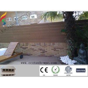 Hohler WPC Decking-Fußboden (hölzerne Plastikzusammensetzung)