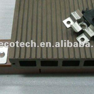 Les accesorries de decking de WPC coupent et le composé en bois composé de wpc de /flooring de Decking du bois de construction WPC de vis