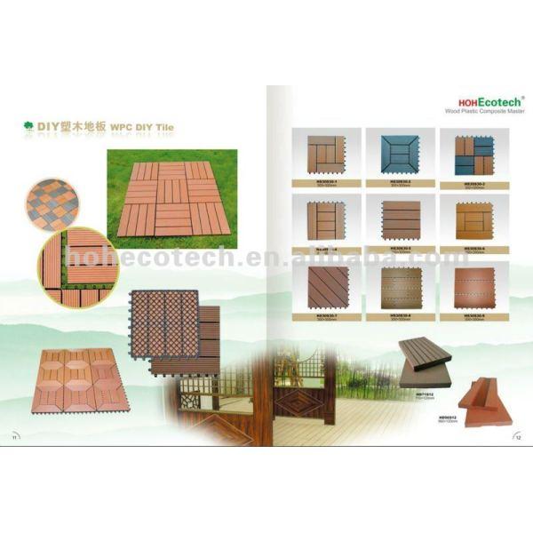 Im Freien hölzerne Plastikmöbel - WPC Materialien