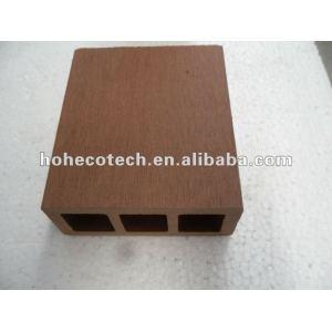 Borne ao ar livre dos trilhos da alta qualidade de WPC (revestimento do wpc/produtos do lazer do painel/wpc parede do wpc)