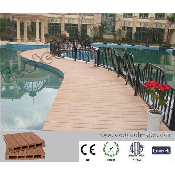 plancher extérieur de decking de WPC (150*25cm)