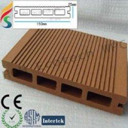 (Natürliches Gefühl ausgezeichnete Qualität und Sicherheit) zusammengesetzte Plattform WPC der zusammengesetzten Plattform des Deckingfußbodens
