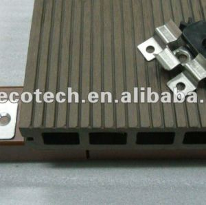 Les différents accesorries de decking de WPC coupent et les vis finissent le composé en bois composé de wpc de /flooring de Decking du bois de construction WPC d'agrafe d'attache