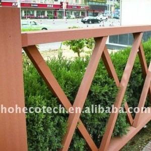 Garden decking tiles WPC composite fencing/railing