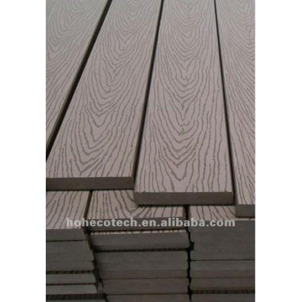 panneau en plastique réutilisé de bois de construction