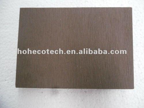 Decking extérieur de WPC/plancher composé en plastique en bois