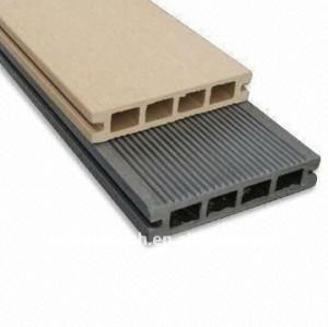 Decking de wpc (composé en plastique en bois)/plate-forme vinyle de plancher