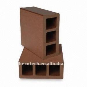 para la esgrima compuestos de madera plástica material wpc valla de madera wpc esgrima