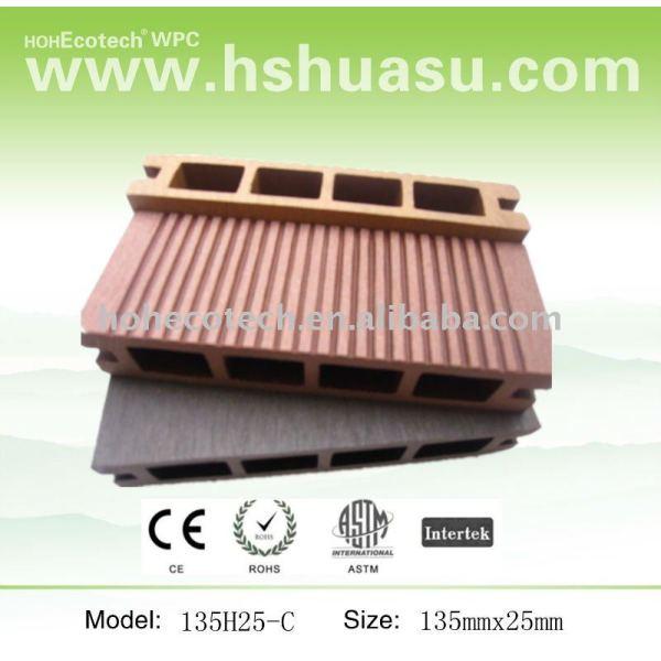 De calidad al aire libre de pisos de vinilo 135x25mm - cedro