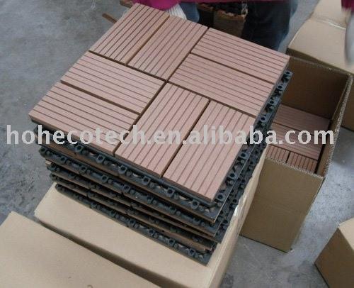 legno composito piastrelle ponte