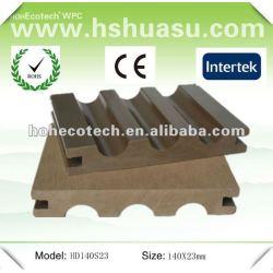zusammengesetztes Material umweltfreundliches wpc Bodenbelagbrett (ISO9001)