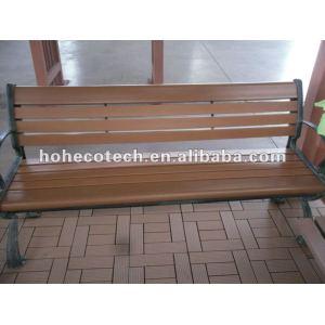 Durevole eco - amichevole wpc sedia esterna ( acqua prova, uv resistenza, resistenza rot e crack )