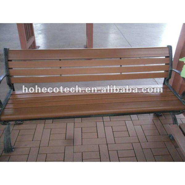Durable eco - ambiente al aire libre del wpc silla ( a prueba de agua, resistencia a rayos uv, resistencia a la pudrición y el crack )