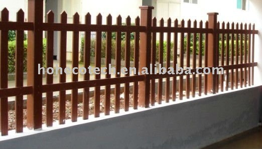 WPC garden side Fencing(CE ISO ATSM ROHS)